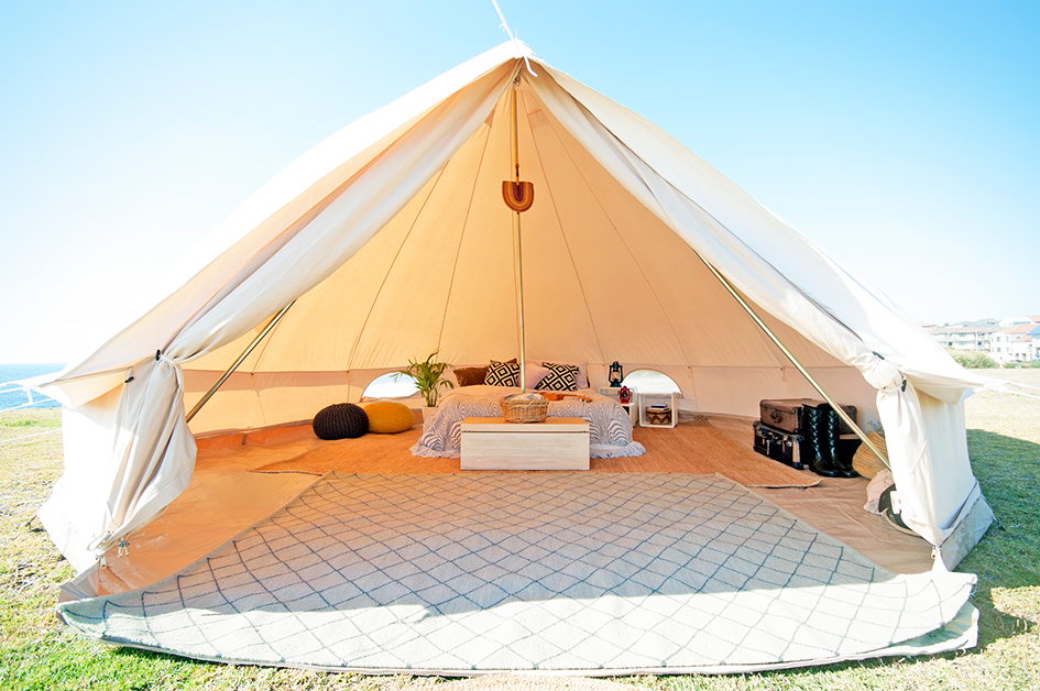 All You Need To Know About The Cotton Canvas Bell Tents