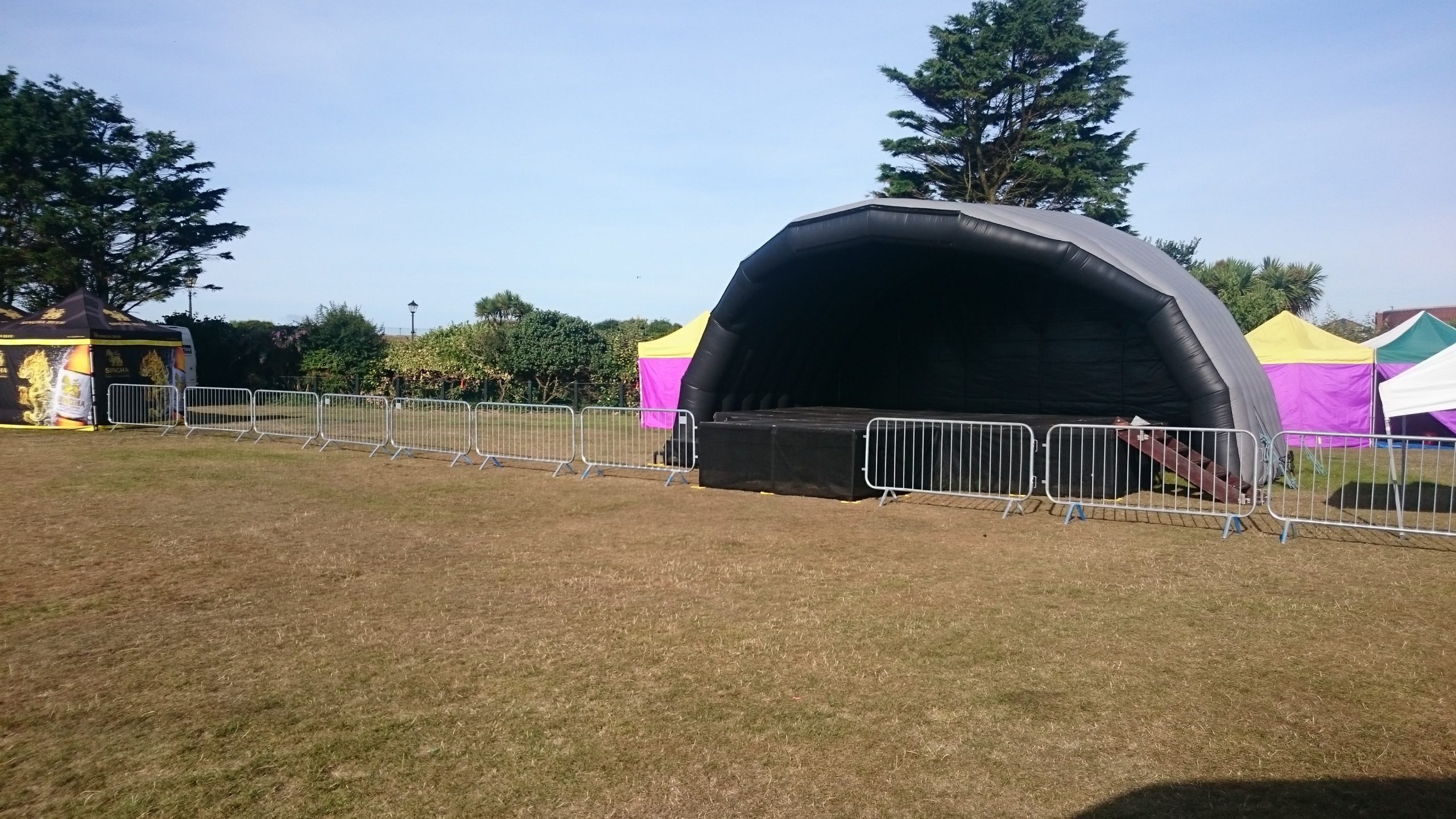 Facts About Stage Hire Near Me
