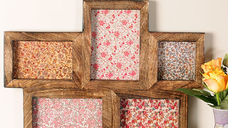 Precise Study On The Wooden Multi Picture Frames