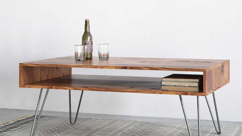 A Glance At Hairpin Side Table
