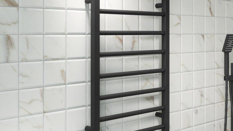 User Guide On Reina Diva Towel Rail Black